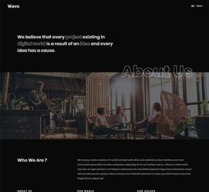 elementor creative about us template